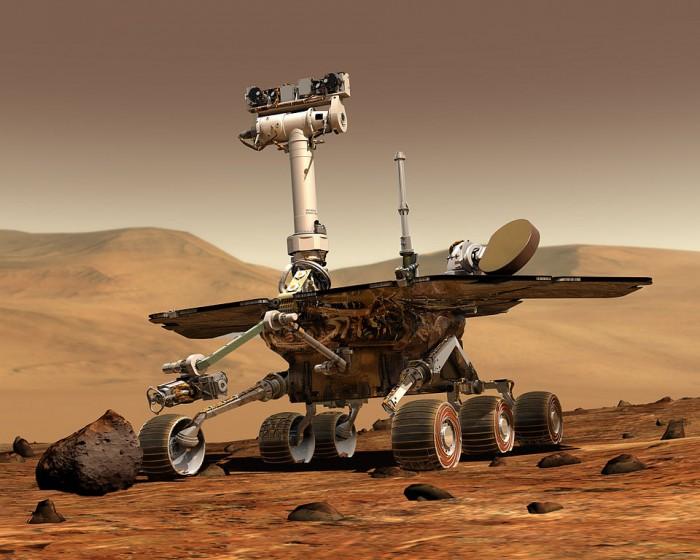 Mars Exploration Robot