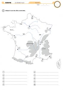 Carte de France : évaluation