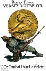 pour la france versez votre or